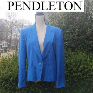 Sophisticated By Pendleton Vintage Blazer 14